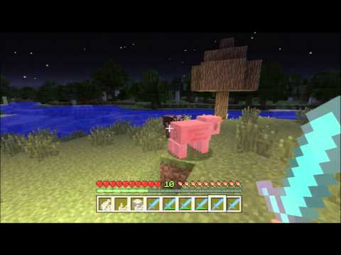 Minecraft Xbox 360 - Sword Enchantment Guide (KnockBack, Sharpness, Smite, Loot)