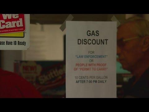 Gun Permit Holders Get Gas Discount