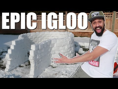 How To Build An Igloo EPIC!!