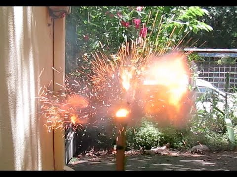 Thermobaric Firecracker Test