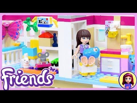 Lego Friends Custom Baby Nursery & Play Room for Triplets DIY Build