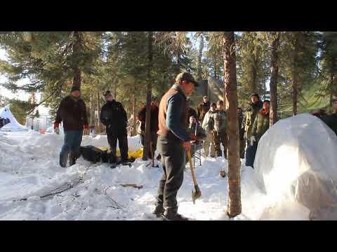 2018 Karamat Winter Course - Felling a Tree