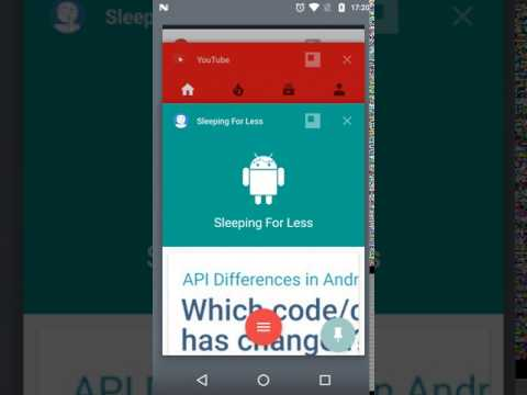 Open app with Freeform mode in Android N