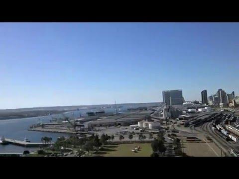 Driving from downtown San Diego to Coronado Island