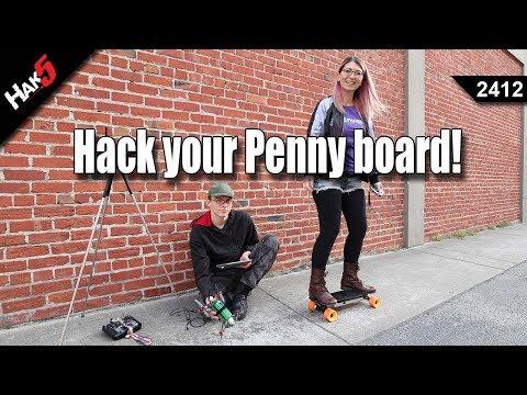 Hack your Penny Board - Hak5 2412
