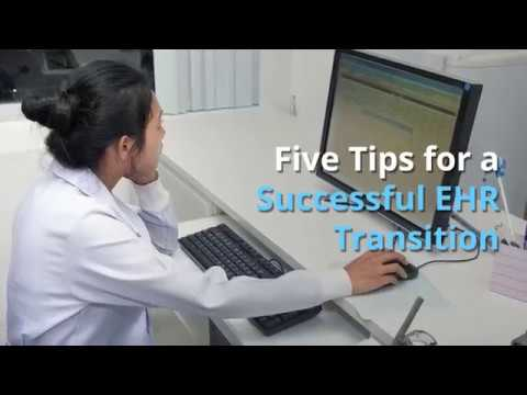 Five Tips for a Successful EHR Transition