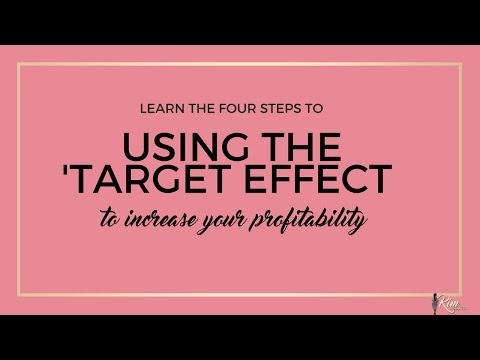 4 Steps To Increasing Profitability #TargetEffect
