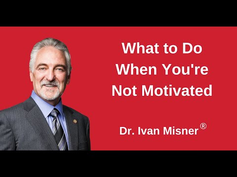 What to Do When You're Not Motivated--Top 5 Tips