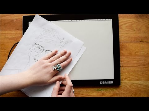 Should you trace or use light boxes with your watercolors? let's talk about it! :)