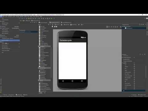 How to change API level Android Studio