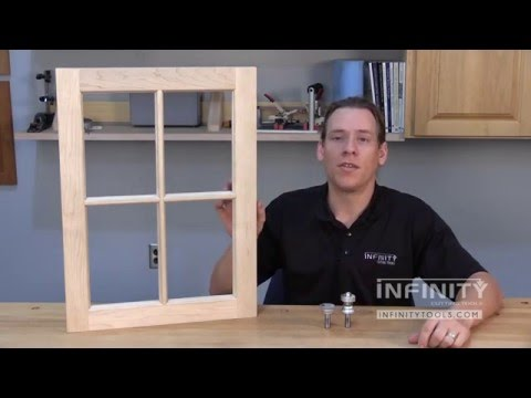 Infinity Cutting Tools - Using Window Sash Bits (55-801)