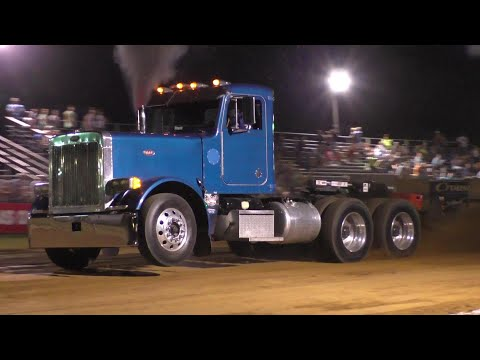 Semi and Triaxle Truck Pulls