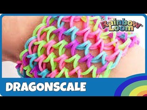 Rainbow Loom Dragonscale - deutsche Anleitung