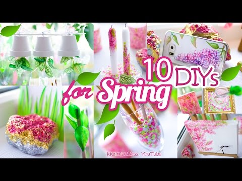 10 DIY Room Decor and Desk Organization Ideas For Spring – 10 Awesome DIY Projects