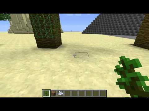 Minecraft: Grow your own Huge Jungle Trees Tutorial (Snapshot 12w04a)