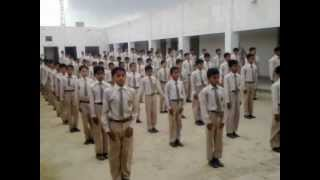 PT EXERCISE DURING ASSEMBLY COL. MUHAMMAD SHER SCHOOL M.T.mp4