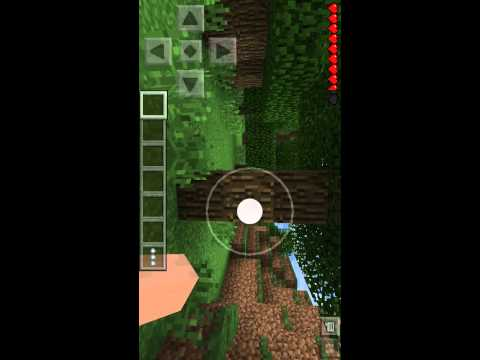 Mine craft how to build a crafting table on minecraft PE on ipod/iPad/iPhone/android