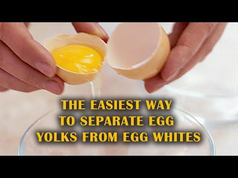 Easiest Way to Separate Egg Yolks