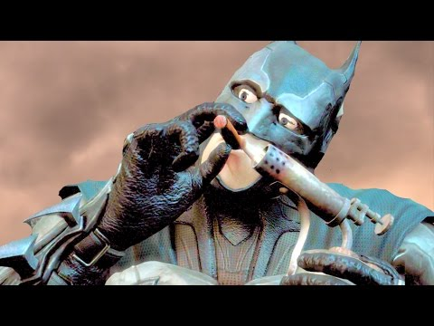 Injustice Gods Among Us Batman Performs All Character Intros Ultimate Edition