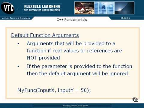 08  C++ Types & Arguments   48  Default Function Arguments