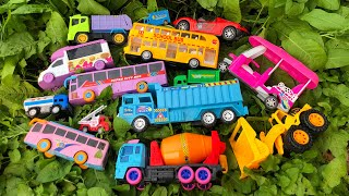 Searching Latest Beautiful Toy Vehicles in the Green Planting Land by PlayToyTime TV