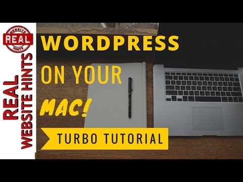 How To Install WordPress Locally on Mac OS FREE! Install WordPress on localhost for mac