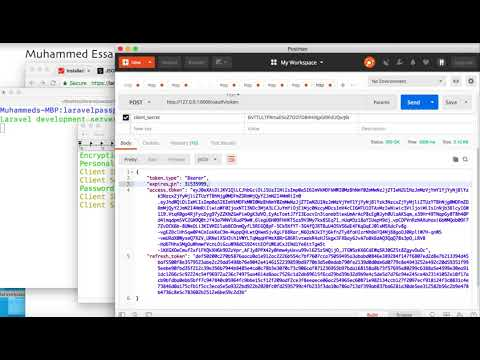 21   Laravel API with Passport and CRUD