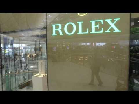 WORLD'S BEST ROLEX SHOP - Rolex Hong Kong International Airport