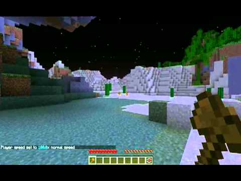 Minecraft Mod review: Singleplayer command´s (world edit) [1.4.7/1.4.6]