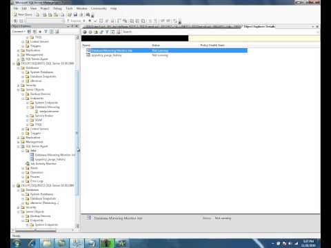 Database Mirroring in SQL Server 2008 R2 - Part 5