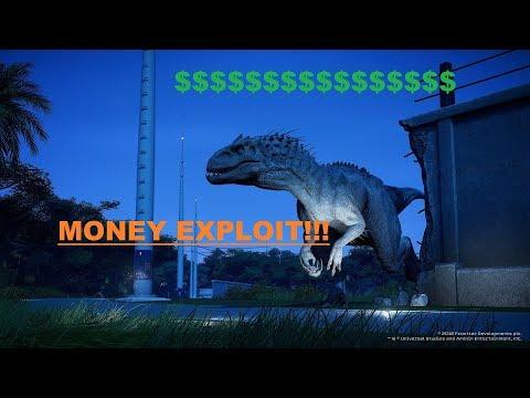 How to Make Fast Money - Exploit - Jurassic World Evolution