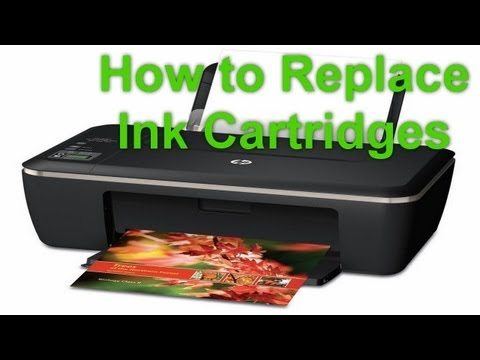 HP Deskjet Ink Advantage 2515 - Installing Ink Cartridges Or Replacing Ink Cartridges - Preview