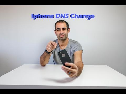 Mudar DNS IPHONE/IPAD/IOS (Change DNS)(Português)