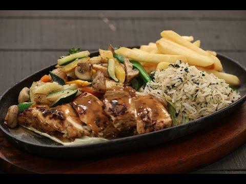 Chicken Sizzler | Majha Kitchen | Sanjeev Kapoor Khazana