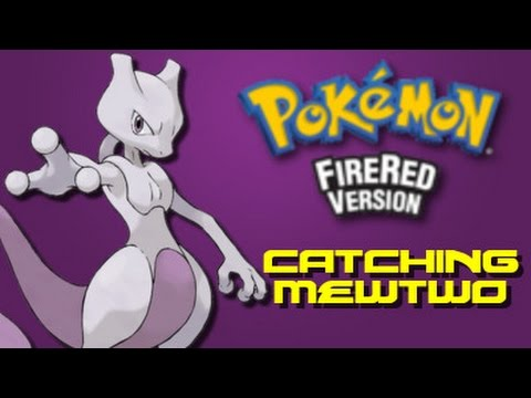 Pokemon Fire Red: How to Catch Mewtwo