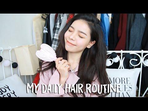 My Daily Hair Routine/ Voluminous Hair | Erna Limdaugh