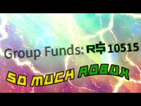 How To Get Robux From Group Funds (YOU NEED A GROUP)