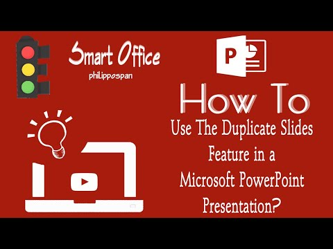 Don't Copy & Paste; Duplicate Slides in PowerPoint 2016