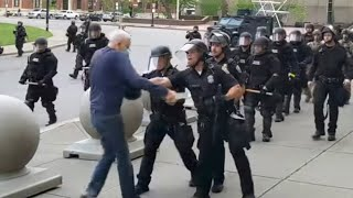 Officials Speak AFter Elderly Protester Is Shoved, Injured in Buffalo | NBC Neew York