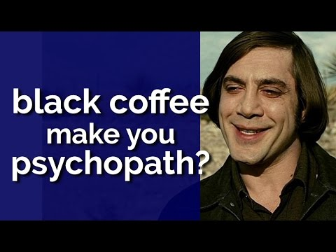People Who Like Drinking Black Coffee Are More Likely to Be Psychopaths