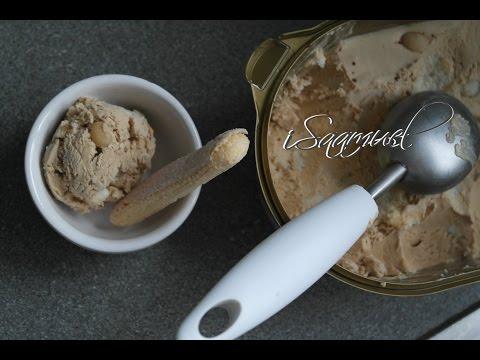 Tiramisu Ice Cream (No Churn, Eggless) | Recipe
