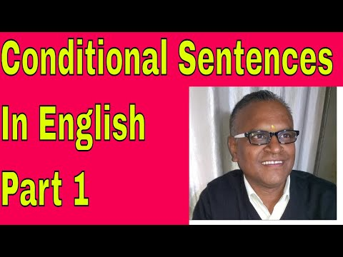 Conditional Sentences In English Part 1, Learning English Online Through Skype!