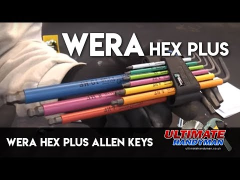 Wera Hex plus Allen keys