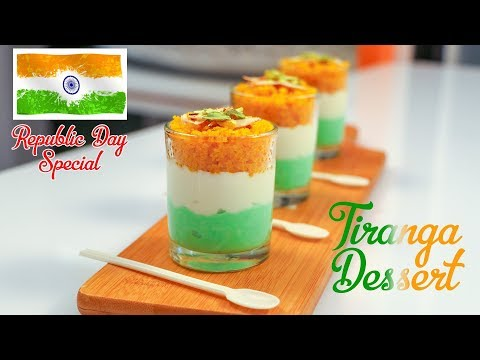 India Republic Day Special Tiranga Dessert Recipe By Manisha Bharani