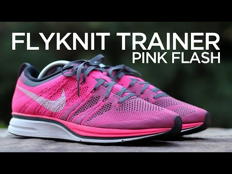 Closer Look: Nike Flyknit Trainer - Pink Flash