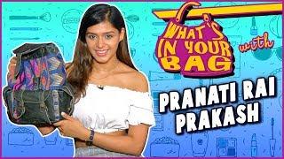 Pranati Rai Prakash Handbag Secret Revealed | What's In Your Bag | TellyMasala
