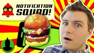 What is the BEST Cartoon Food?! Ft. AnimationEpic Notification Squad S2 E6!