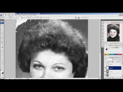 Repair Picture - Photoshop CS3 (Part 1)