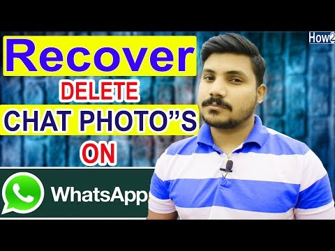 How to Recover whatsapp deleted chat history | Restore photos videos | without backup 2018