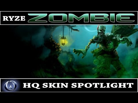 League of Legends: Zombie Ryze (HQ Skin Spotlight)